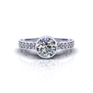 Engagement Ring top view