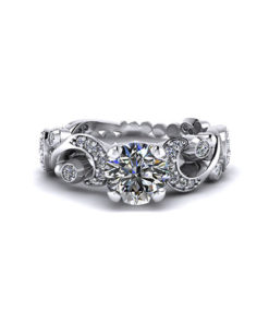 Paisley Engagement Ring