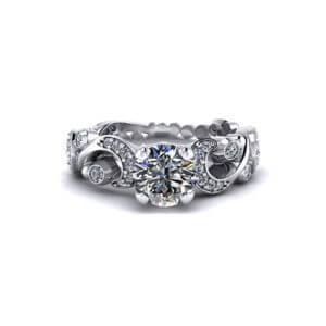 Paisley Engagement Ring