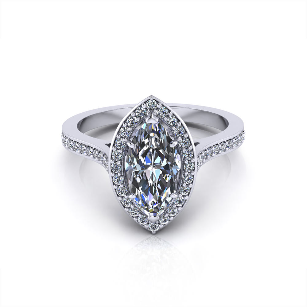 marquise halo engagement ring jewelry designs. Black Bedroom Furniture Sets. Home Design Ideas