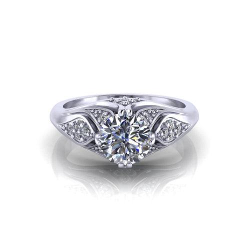 Artistic Diamond Ring