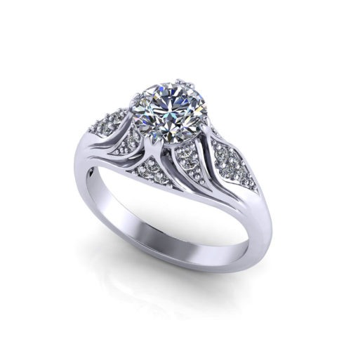 -Artistic Diamond Ring