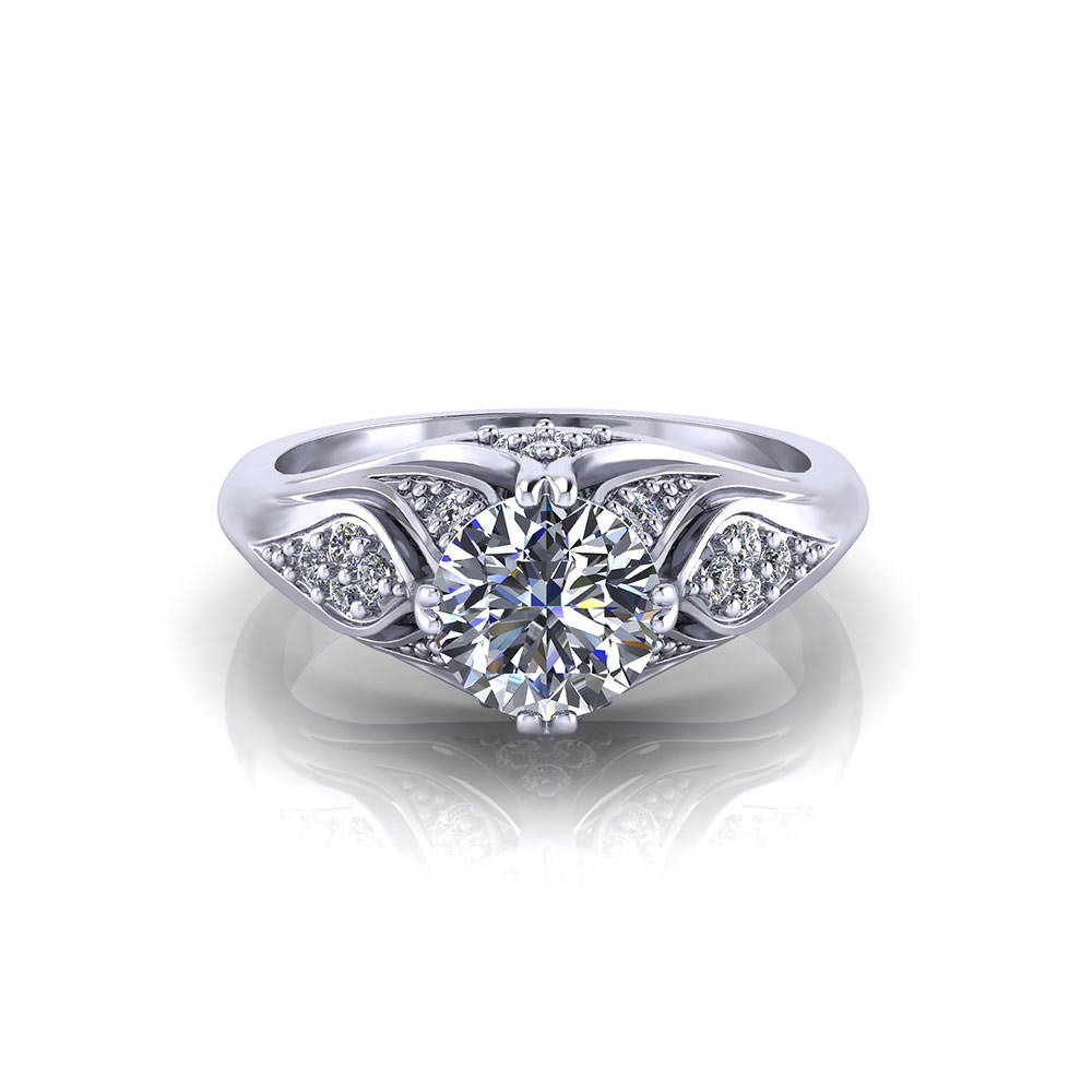 Artistic Diamond Ring