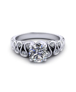 Ribbon Engagement Ring