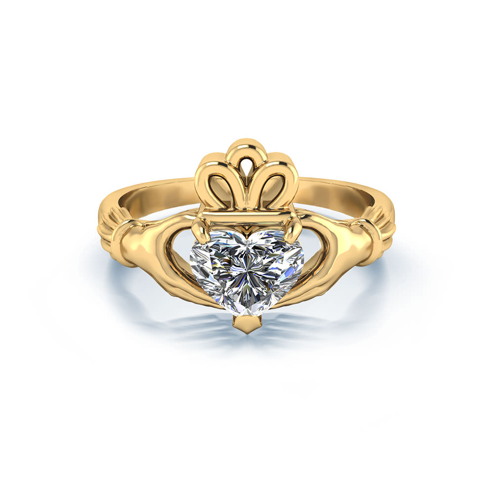 claddagh engagement ring - photo #22