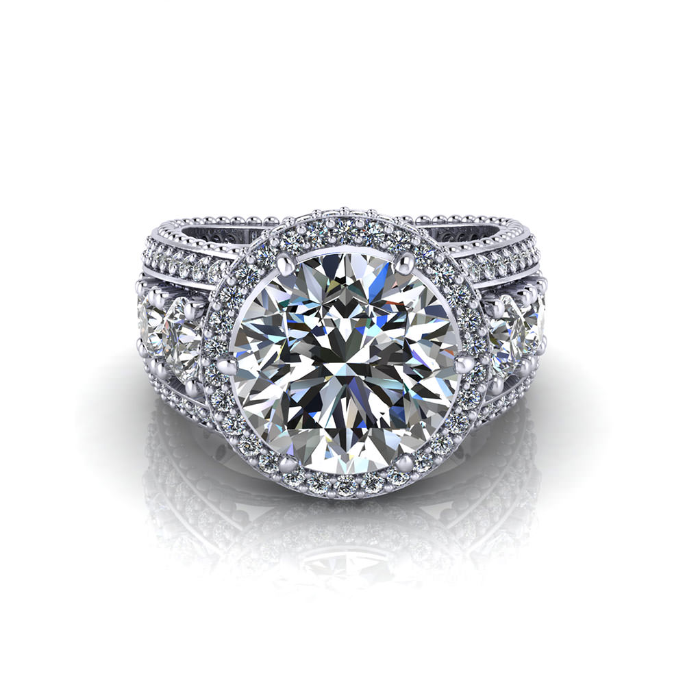 Carat Round Diamond Ring Price