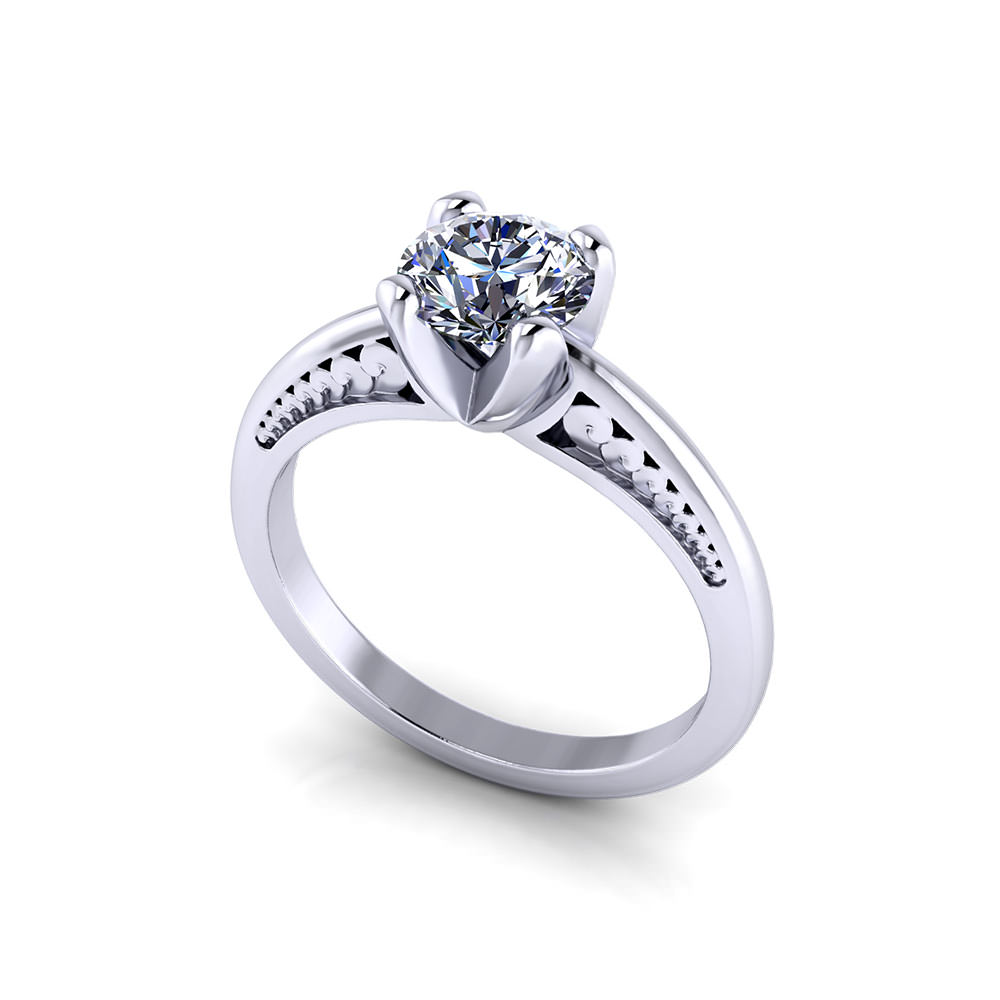 Carat Solitaire Diamond Ring