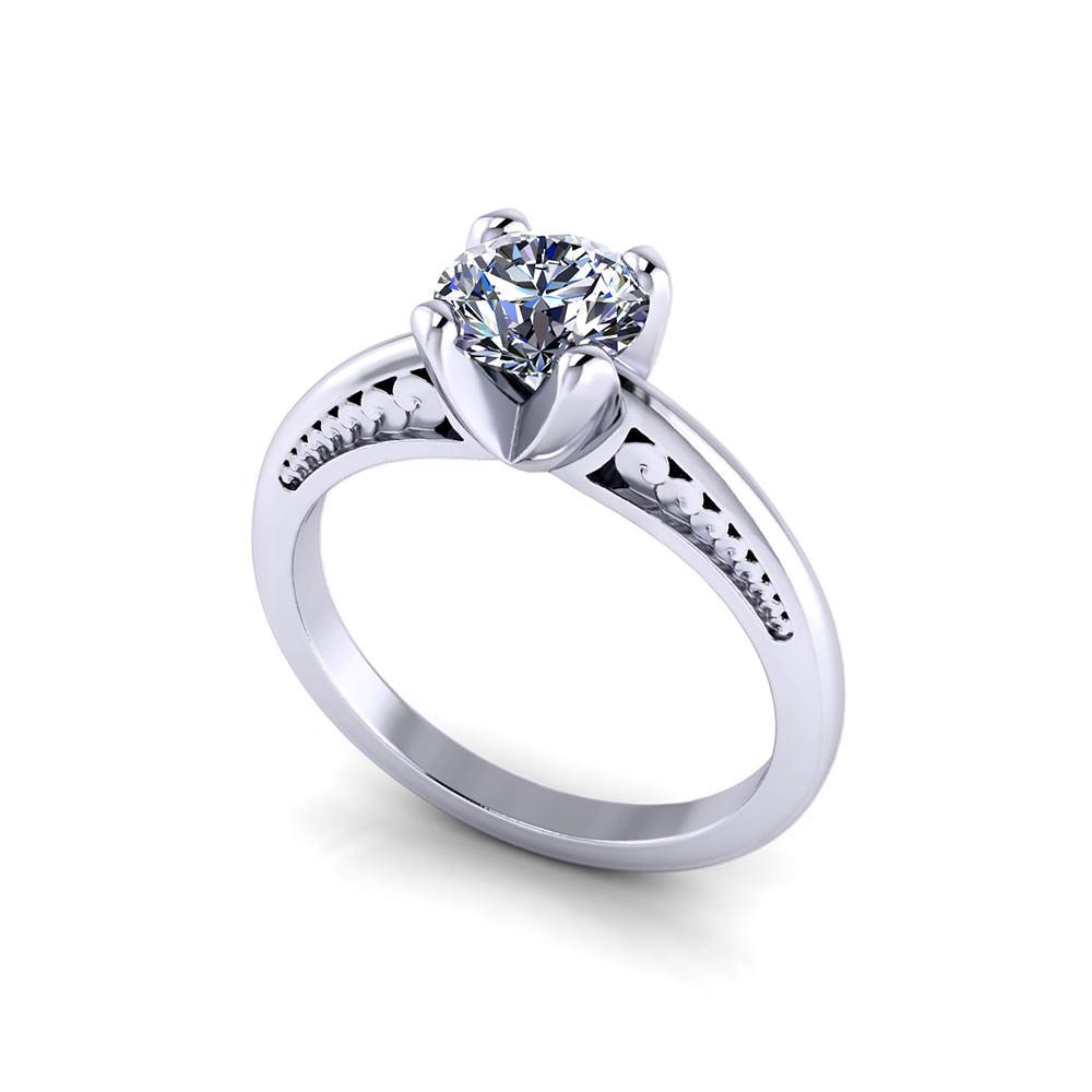 Custom Solitaire Engagement Rings