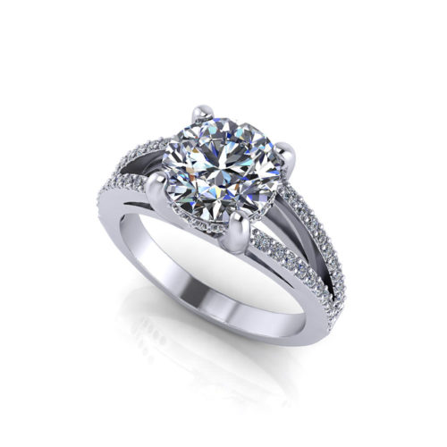 Split Engagement Ring