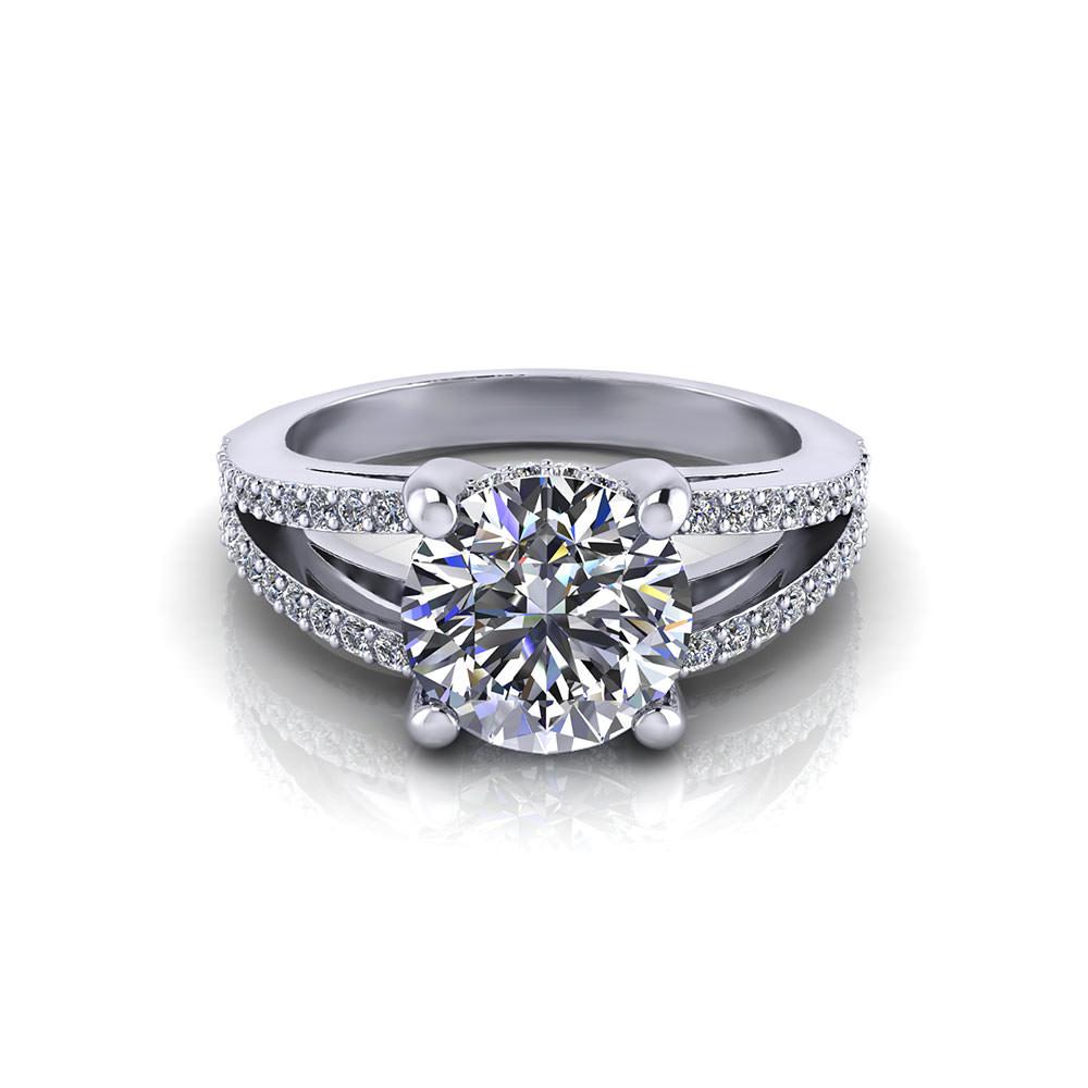 Split Engagement Ring | Jewelry Designs
