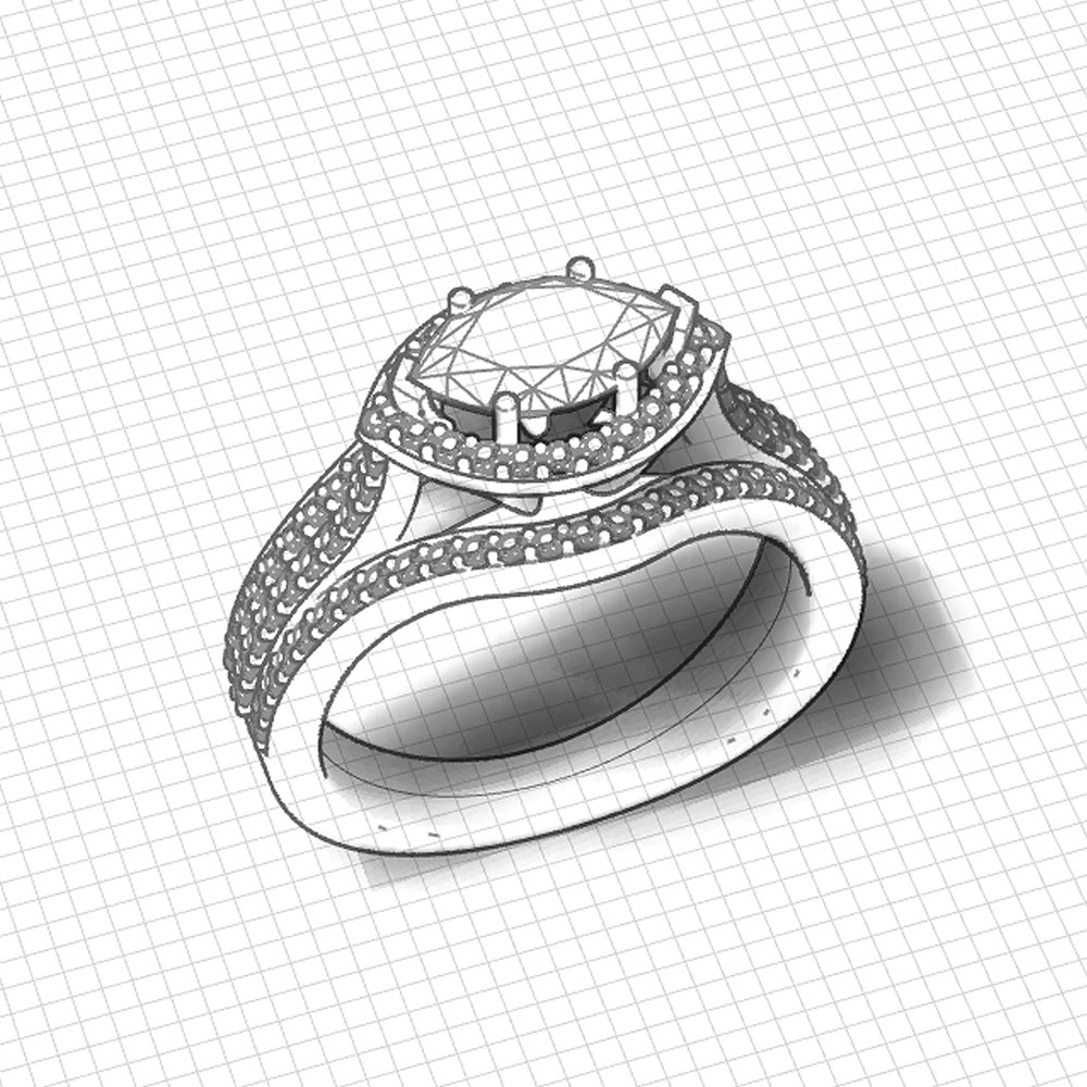 Horizontal Marquise Engagement Ring Jewelry Designs