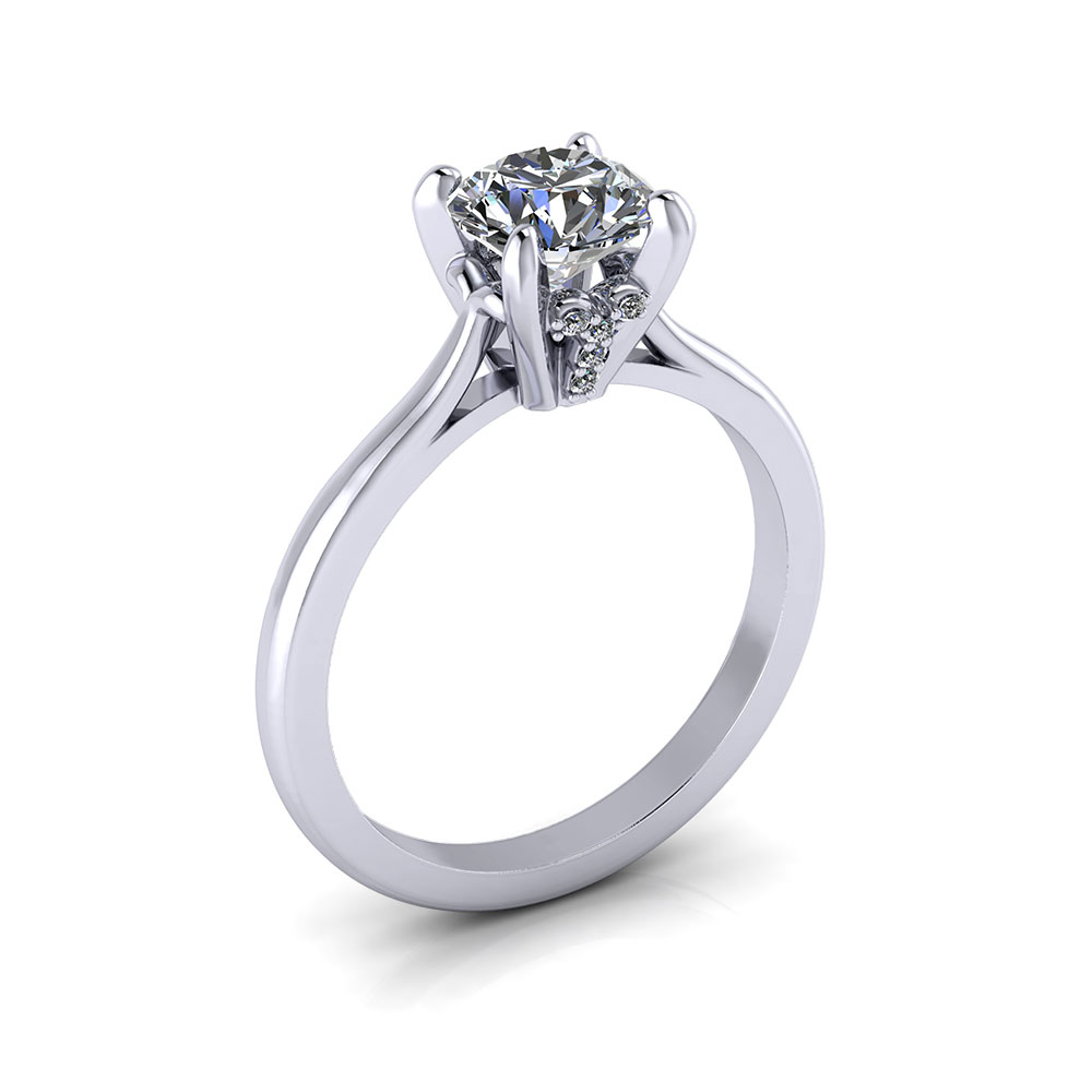 rings solitaire v christopher duquet setting classic view with lines top diamond portfolio prong engagement suspended