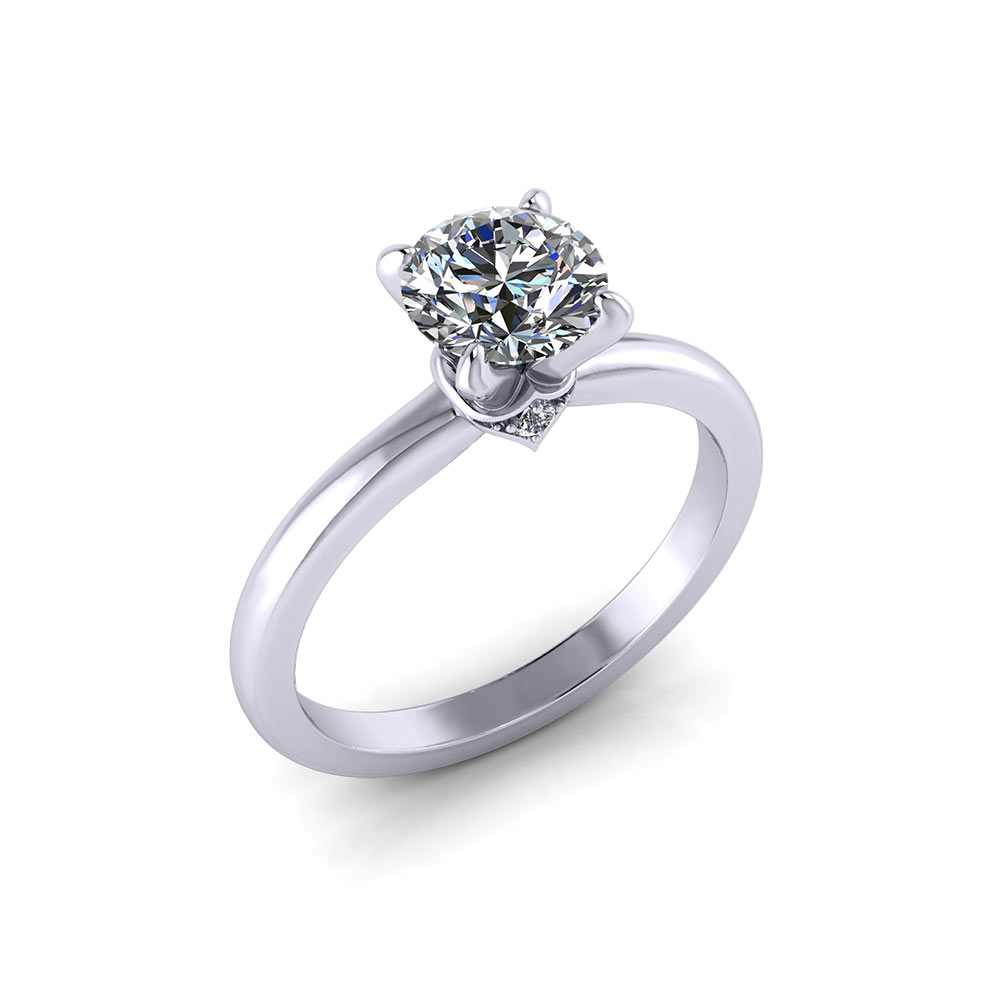 rockher engagement ct with platinum white ring oval cut shank prong diamond classic in rings tw tapered