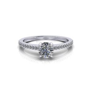 ½ carat engagement ring
