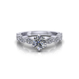 6 Prong Engagement Ring