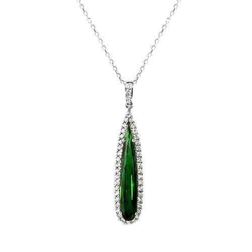 NC694-1 Unique Tourmaline Necklace