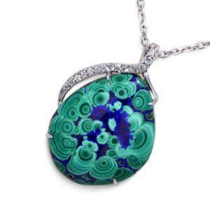 Malachite Azurite Necklace