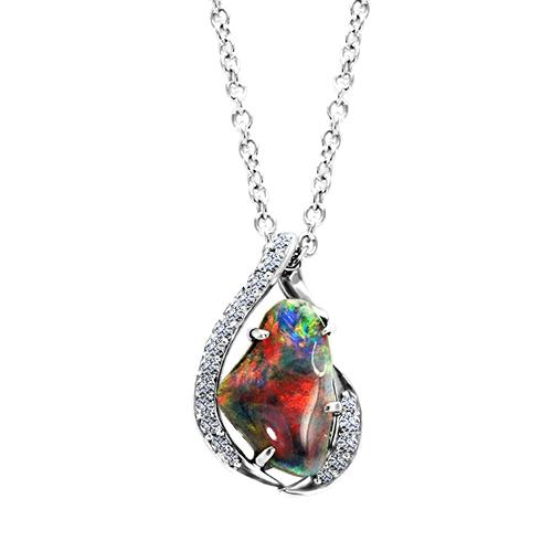 NC718-1-fiery-black-opal-necklace