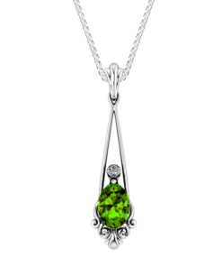 Vintage Peridot Necklace