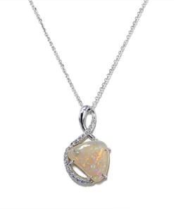 Free Form Opal Pendant