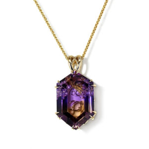 Ametrine Fish Necklace