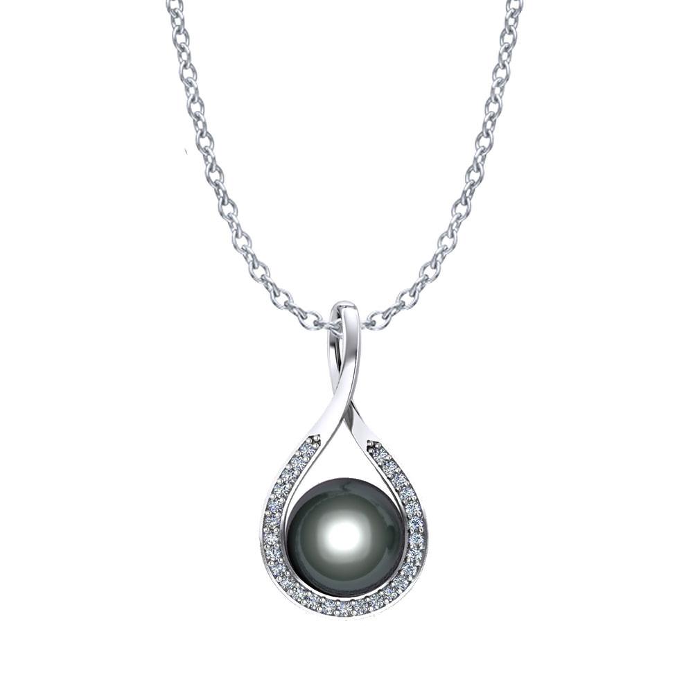 tahitian pearl diamond pendant jewelry designs. Black Bedroom Furniture Sets. Home Design Ideas
