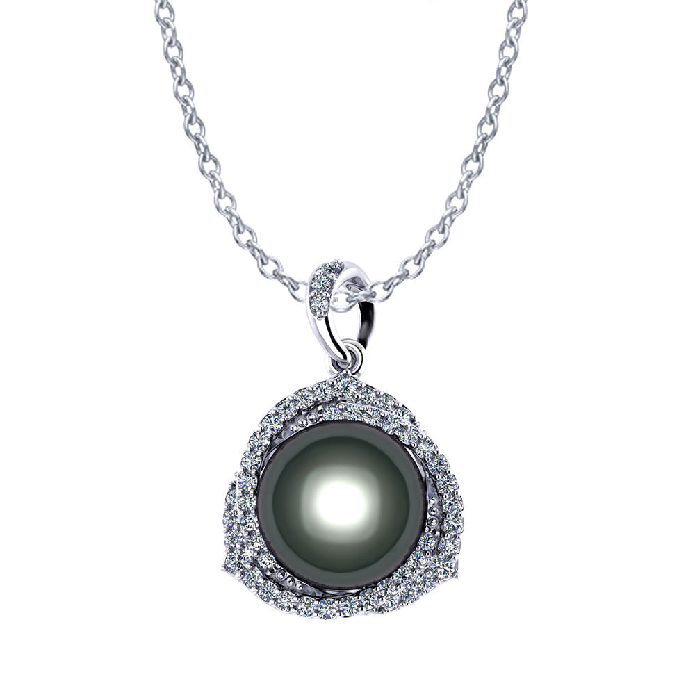Trinity Tahitian Pearl Necklace