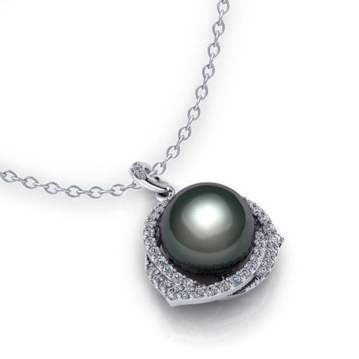 Trinity Tahitian Pearl Necklace