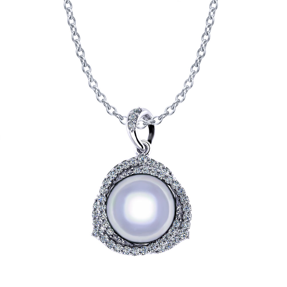 Trinity South Sea Pearl Necklace Jewelry Designs