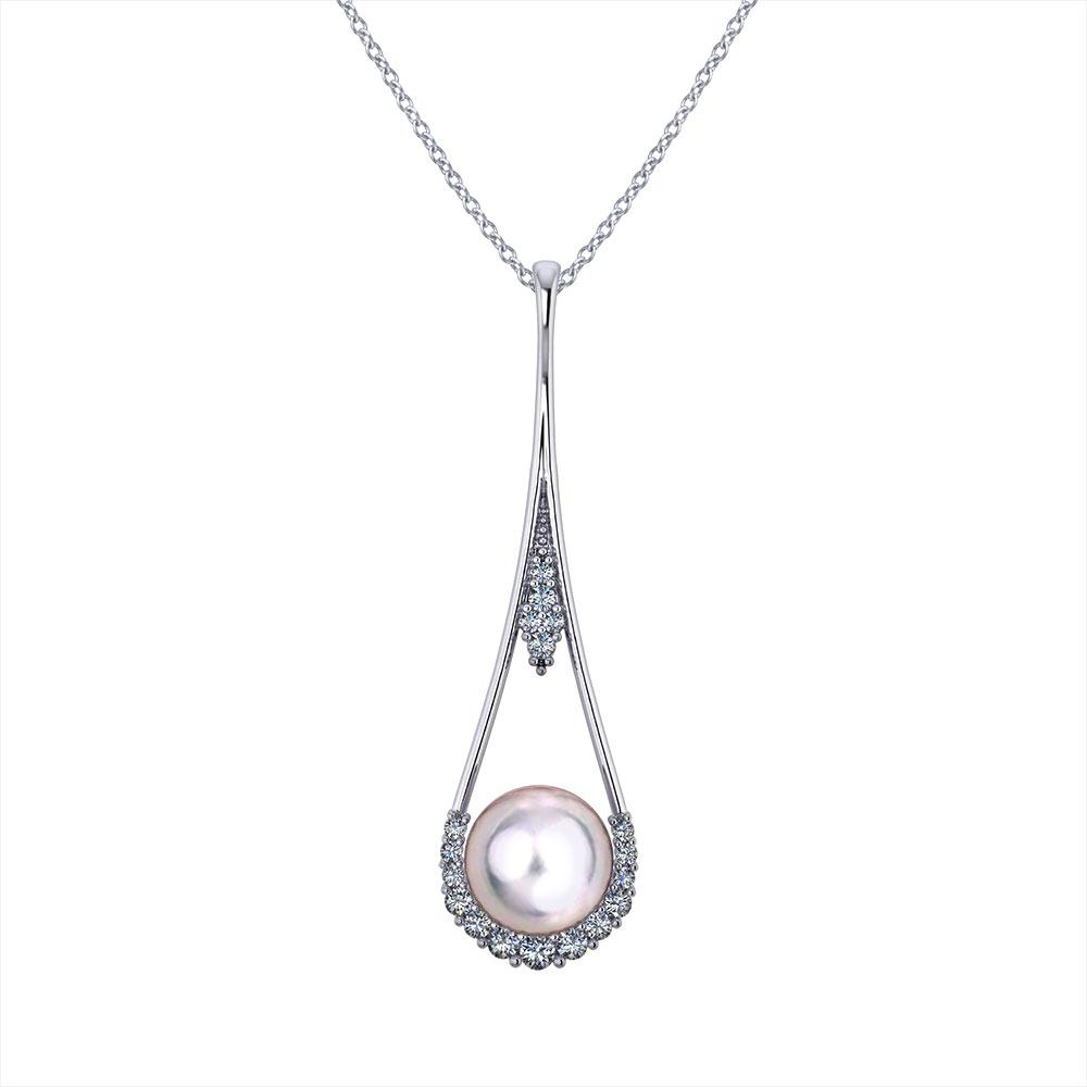 Drop Pearl Pendant