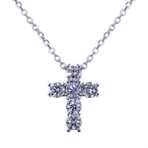 Bold Diamond Cross
