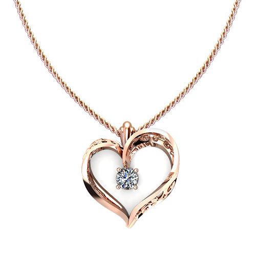 Scroll heart pendant jewelry designs nd407 1 scroll heart pendant aloadofball Images