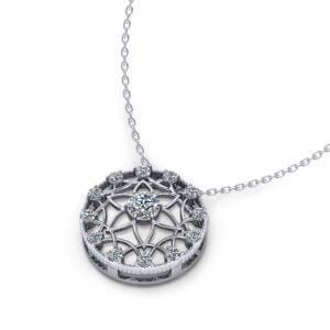 Spirited Diamond Pendant