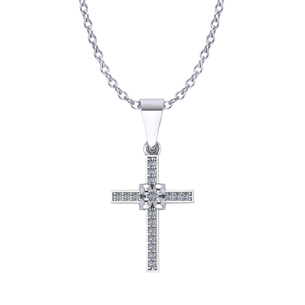 Dogwood Diamond Cross
