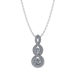 Elegant Diamond Drop Necklace
