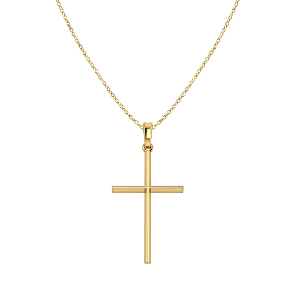 Simple Gold Cross
