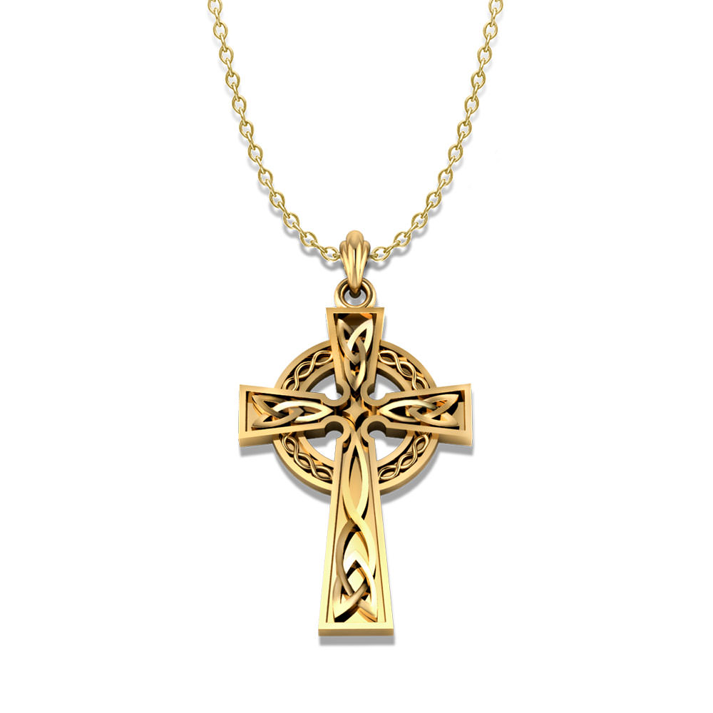 celtic product jewelry cross necklace designs