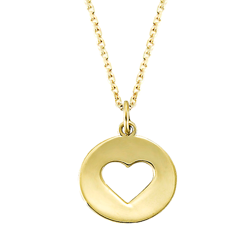 Gold Heart Charm