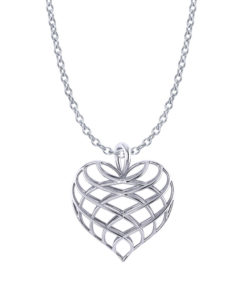 Lattice Heart Necklace