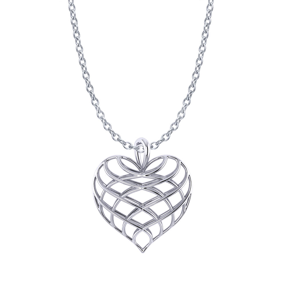 two free jewelry product infinity tdw diamond sterling silver shipping tone overstock heart watches today miadora necklace