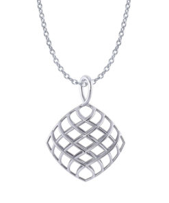Cushion Lattice Necklace