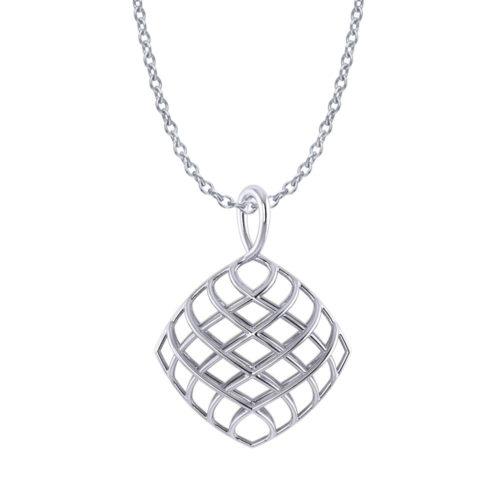 Cushion Lattice Necklace
