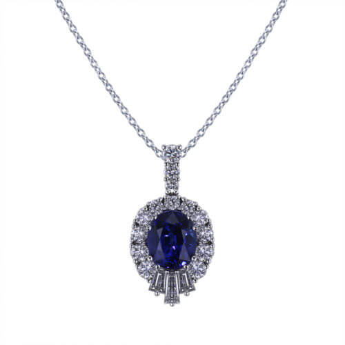 Stunning Sapphire Necklace