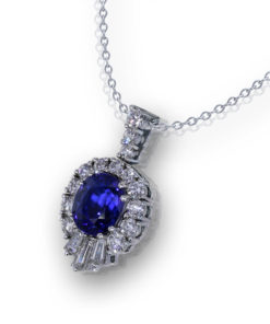 Stunning Sapphire Necklace