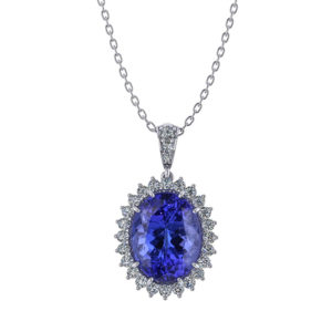 Tanzanite Lady Di Necklace
