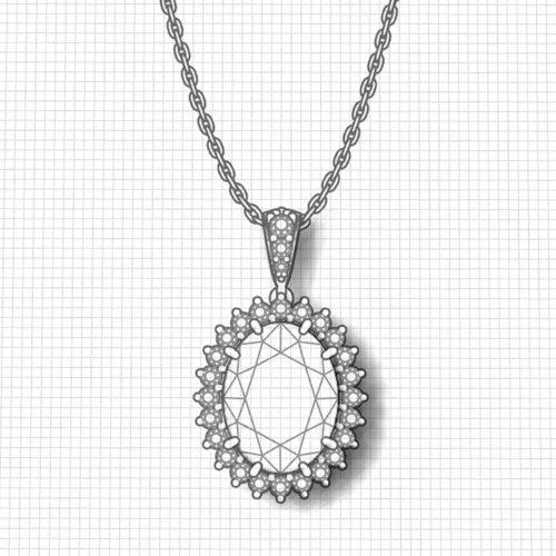 Tanzanite Lady Di Necklace