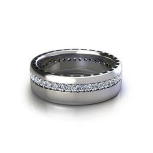 Men's Eternity Wedding Ring