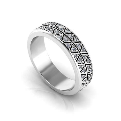 Mens Diamond Eternity Ring