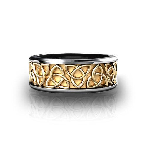 Trinity Knot Wedding Ring