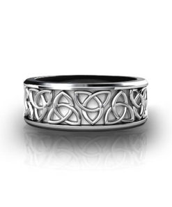 Trinity Knot Wedding Ring